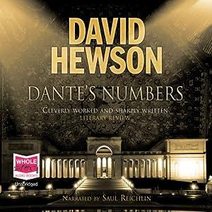 Dante's Numbers Audiobook