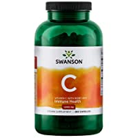 Swanson Vitamin C with Rose Hips Immune System Support Skin Cardiovascular Health...