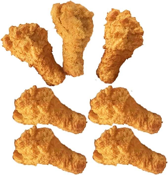 Chicken Drumstick Wax Props Fake Food Display