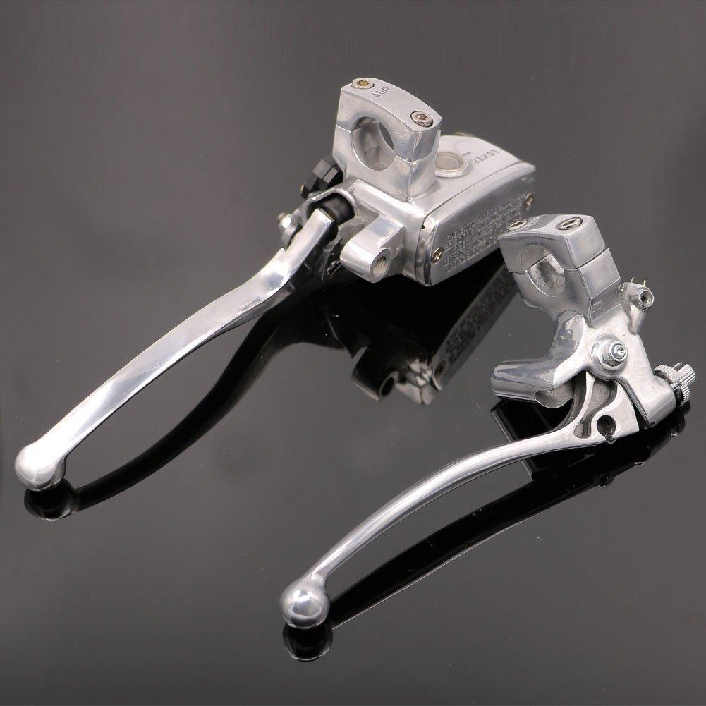 Motorcycle 1' Master Cylinder Hydraulic Brake Control Clutch Lever For Harley-Davidson Dyna Wide Glide FXDWG 2005-2014 Motofans