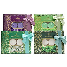 the gift box Gifts for Women. Scented Candles Make and Presents for Her. Ideal Christmas and Xmas Gifts Anniversary and…