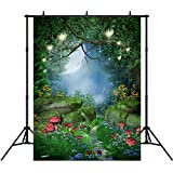 5x7ft Fairytale Photography Backdrops Vinyl Dreamlike Forest Photo Background Studio Prop Photographic Booth