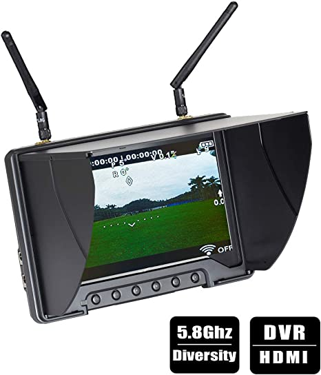 5.8G 20mw Wireless AV Transmitter Module+5.8G Video AV Receiver Set for FPV