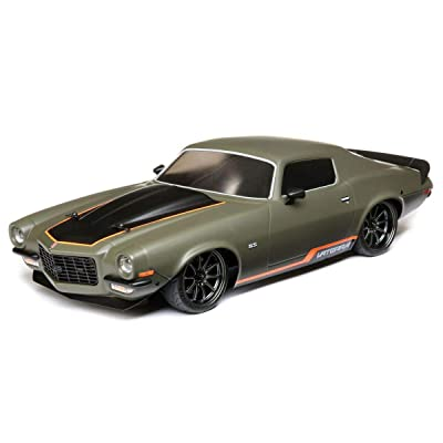 VATERRA 1/10 1972 Chevy Camaro SS V100 4WD Brushed RTR, Green, VTR03101T2: Toys & Games