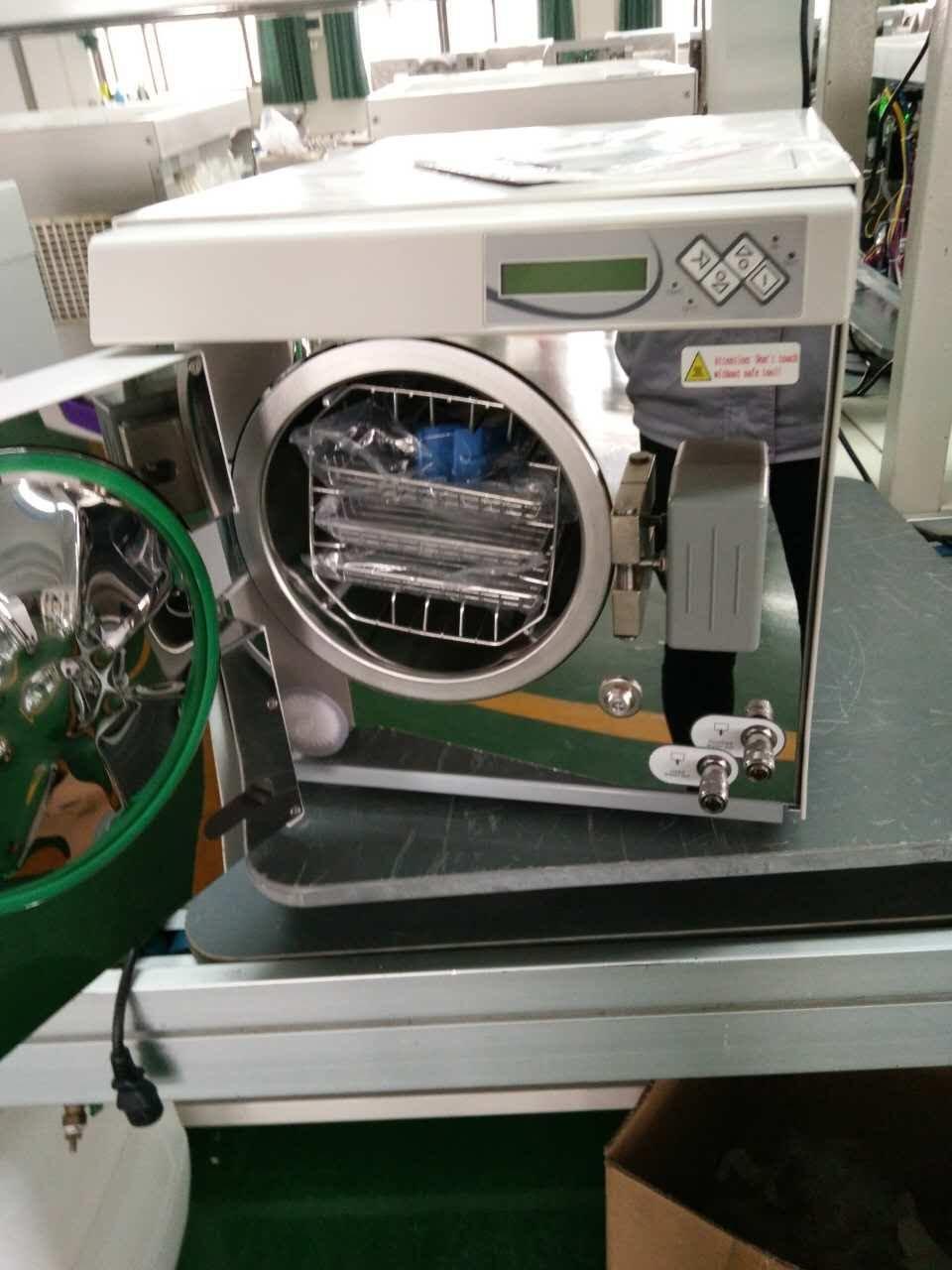 Dental Mini Autoclave - Zeta 8L New Sterilizer Medical Vacuum with LCD Screen Class B
