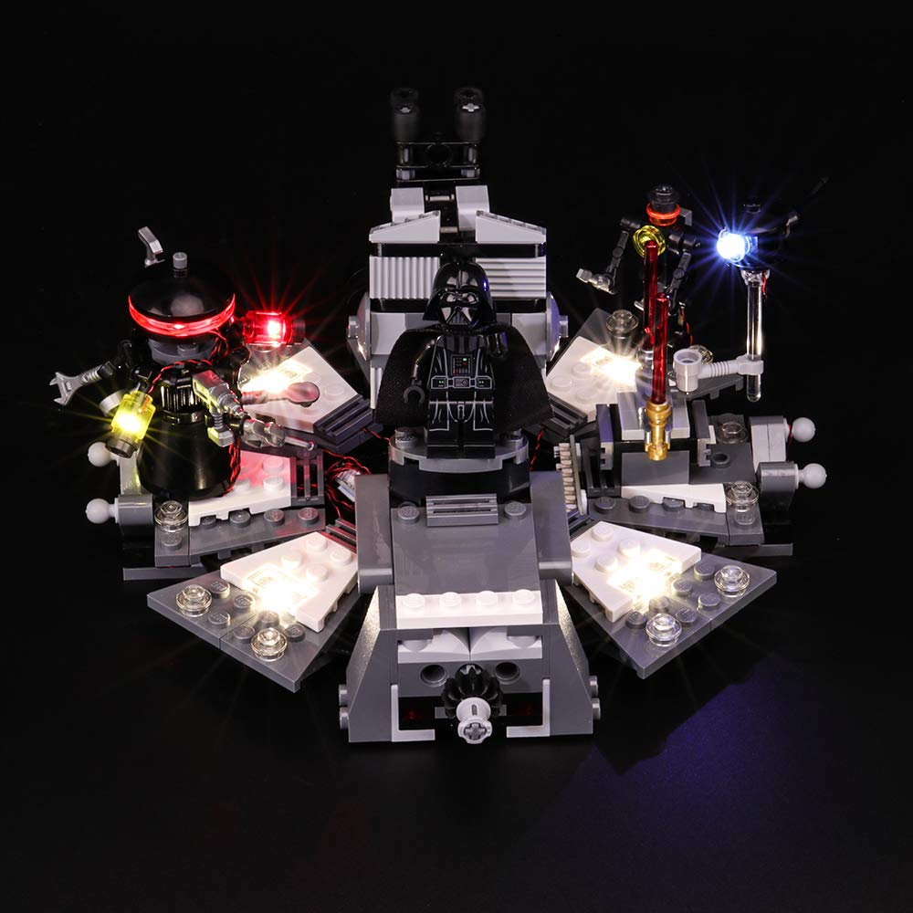 BRIKSMAX Led Lighting Kit for Star Wars Darth Vader Transformation Compatible with Lego 75183 Building Blocks Model Not Include The Lego Set