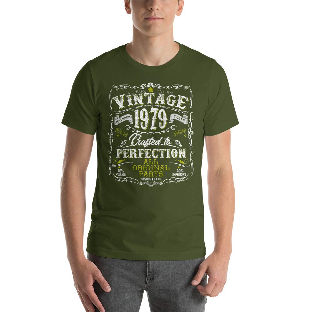Vintage Retro 1979-40th Birthday T-Shirt Gift for Men and Women