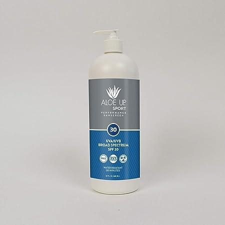 Aloe Up Sun Skin Care ProductsSport SPF 30 Sunscreen Lotion, 32-Ounce