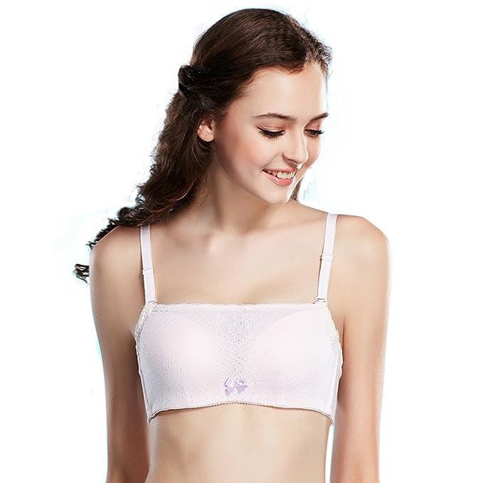 Bra/Adolescente armario a prueba de fallos tubo superior/ ropa interior tazas del grueso