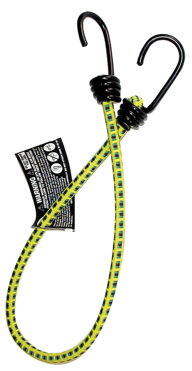 Keeper 06025 24'' Bungee Cord with Coated Hooks