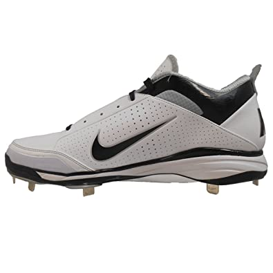MENS NIKE AIR SHOW ELITE 2 BLACK BASEBALL METAL SPIKES Size 10 US