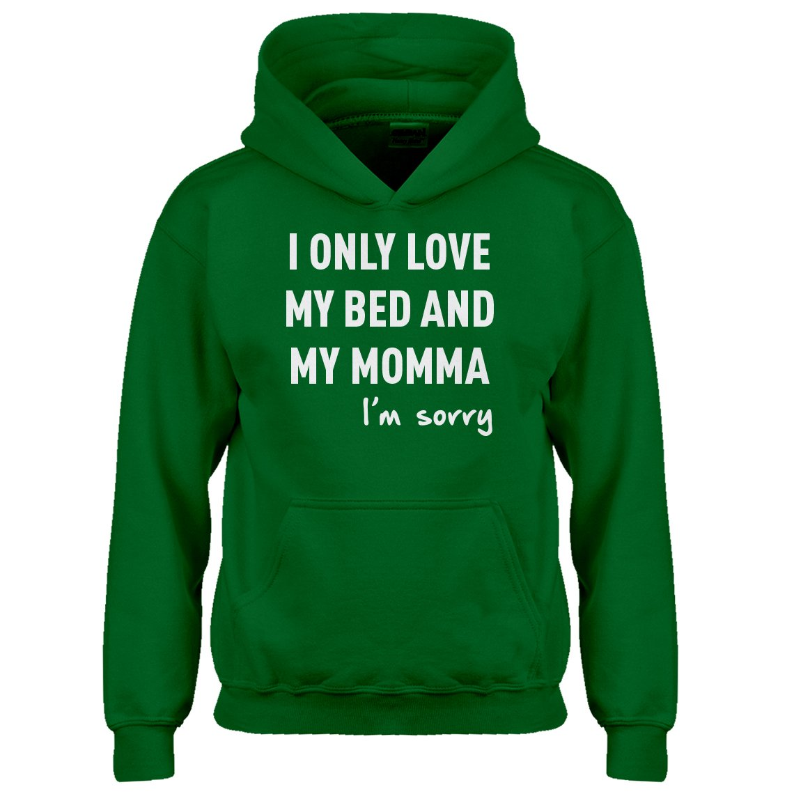 Indica Plateau Only Love My Bed Kids Hoodie 3616-Z