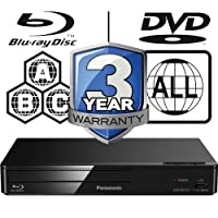 Panasonic DMP-BDT167EB-K Smart 3D 4K Upscaling ICOS Multi Region All Zone Code Free Blu-ray Player. Blu-ray zones A, B and C, DVD regions 1 - 8. YouTube, Netflix etc. HDMI output. HDD Playback
