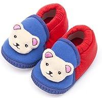 Infano Unisex Multicolour Cotton Baby Shoes