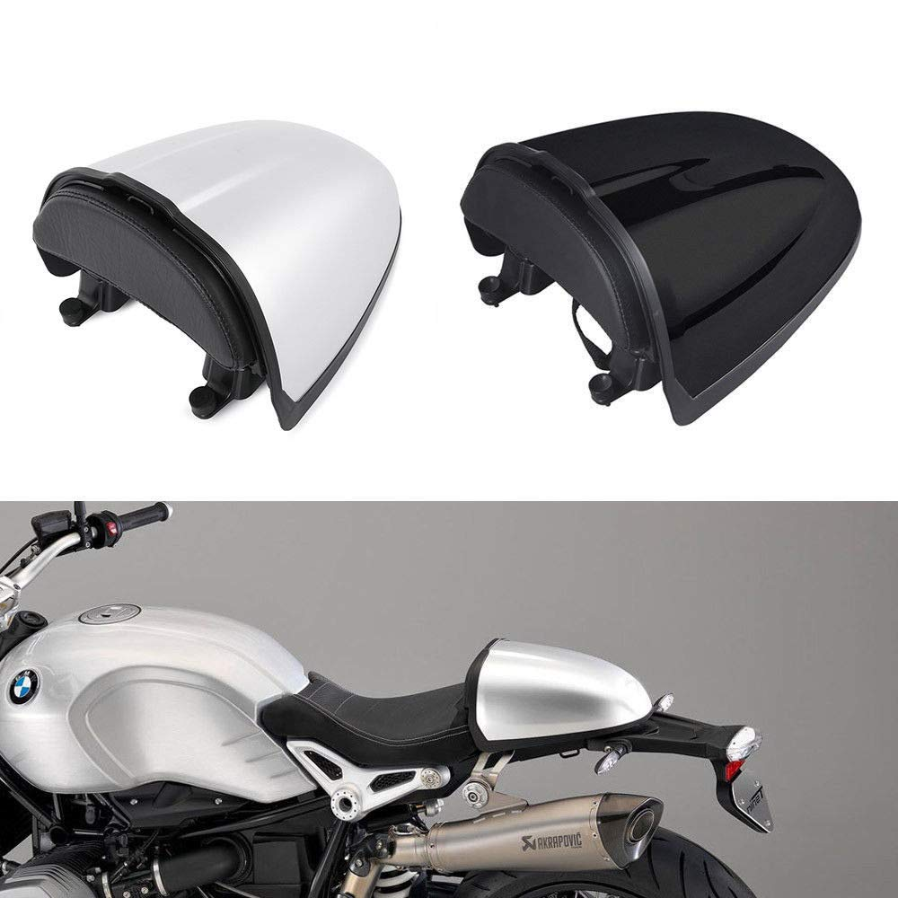 Rear Pillion Seat Cowl Hump Cover Cowl For 2014-2017 BMW R NINE T R9T (Silver) Tmsuschina