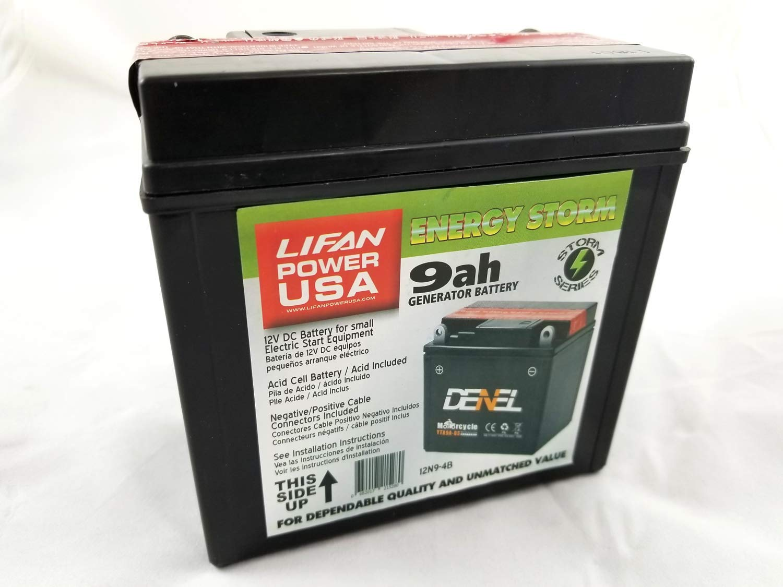 Batería LIFAN para generadores, lavadoras a presión y Motores ...