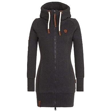 buy online cd2ec d2547 Lylafairy Hoodie Damen Pullover Kapuzenpullover Langarm Sweatshirt Jacke  Mantel Outwear