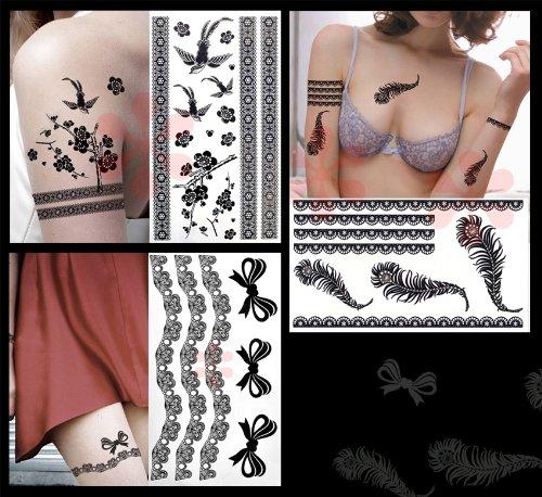 3-pack Bijoux Fashion Sexy Lace &