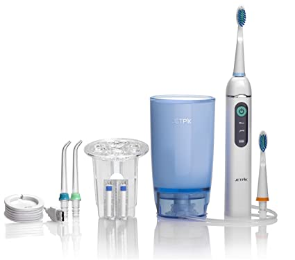 jetpik Home 3 en 1 seda dental eléctrico/Hidropropulsor/cepillo dental sónico para casa