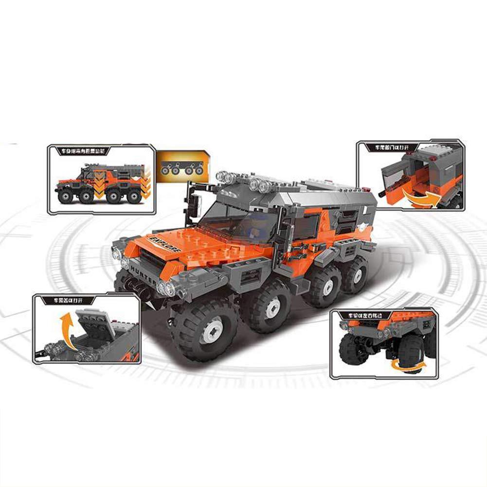 AIYA 466Pcs Technic s/érie Creative MOC RC Sauvage Hors Route v/éhicules mod/èle Blocs de Construction Briques SUV Jouets pour Les Cadeaux de gar/çons
