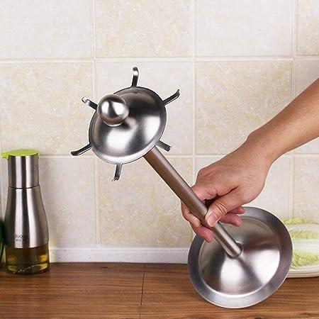 Finitura opaca utensili da cucina in acciaio INOX porta utensili ...