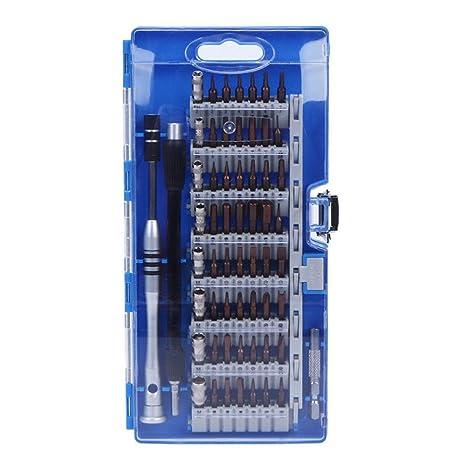 60 en 1 Juego de destornilladores Set,GZQ,Kit De Reparación Precision Destornillador Sets