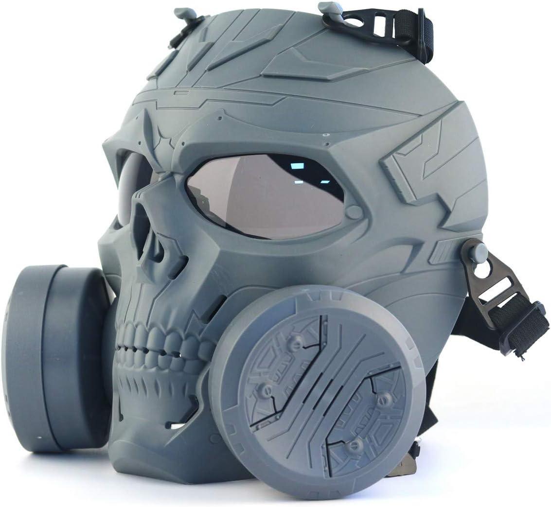 ATAIRSOFT Tactical Skull Full Face Mask