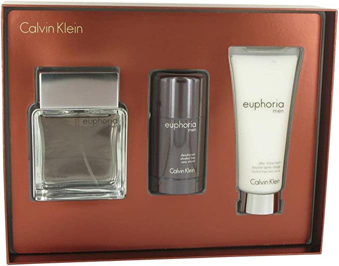 Calvin Klein Euphoria Men Perfume para Hombre, After Shave y Desodorante Stick - 1 pack: Amazon.es: Belleza