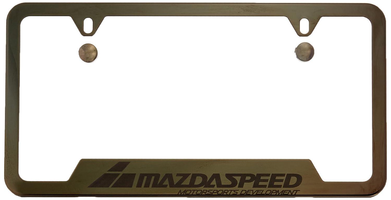 Amazon.com: Genuine Mazda 0000-83-Z35 License Plate Frame: Automotive