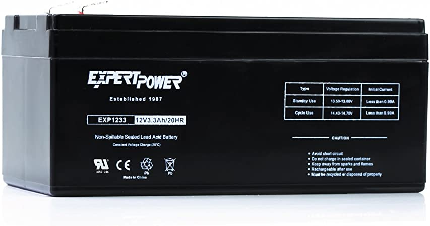 This is an AJC Brand Replacement APC Back-UPS Back-UPS 350C 12V 3.2Ah UPS Battery