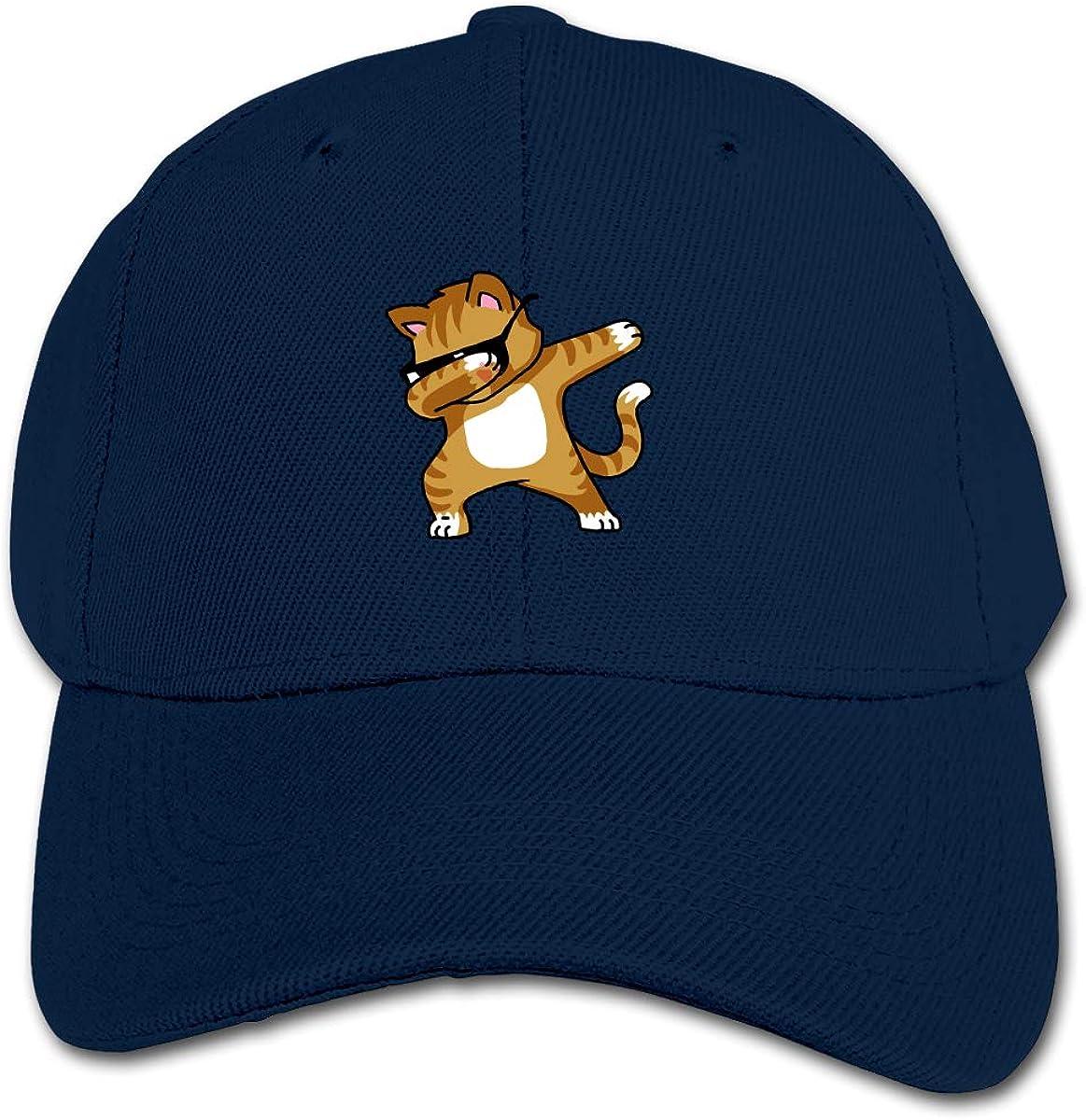 Cool Cat Kids Baseball Cap Hat Unisex Toddler Sun Hat Adsjutable Trucker Hat