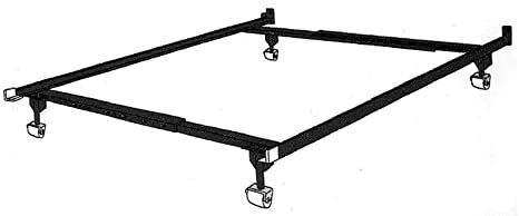 Amazon.com: Metal Twin/Full /Queen Adjustable Bed Frame attach to