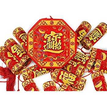 Amazon.com: Lucore Lucky Fish Chinese Charm Hanging ...