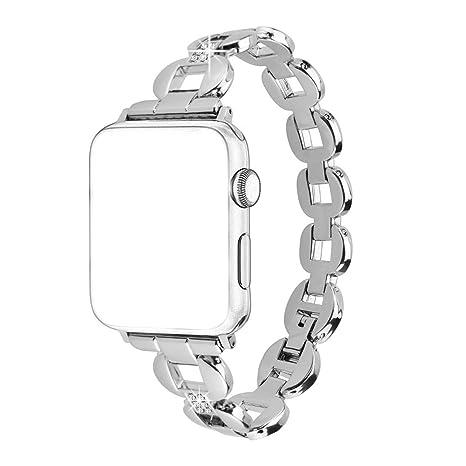 Bracelet Apple Watch 38mm, Bracelet Watch Serie 3 Rosa Schleife®Bracelet  iWatch Femme fantaisie