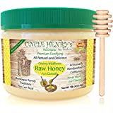 "#1 Best Taste Premium Raw Honey from Canada. Fresh Farmers Market Quality Big 1lb Double-Sealed Artisan California Product, Original Green Lid ""You'll Love it"" Henry's Guarantee"
