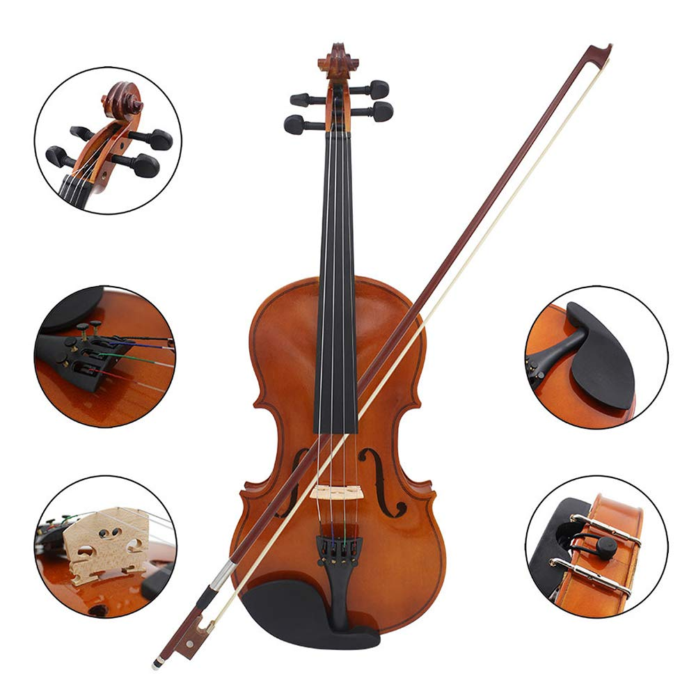 【お得】 DUOLUO 初心者のためのアーバーの弓と1 B07Q15789X DUOLUO/4サイズのバイオリンフィドルバスウッド鋼弦B5O5 B07Q15789X, 野田市:cdd1e5b8 --- arianechie.dominiotemporario.com