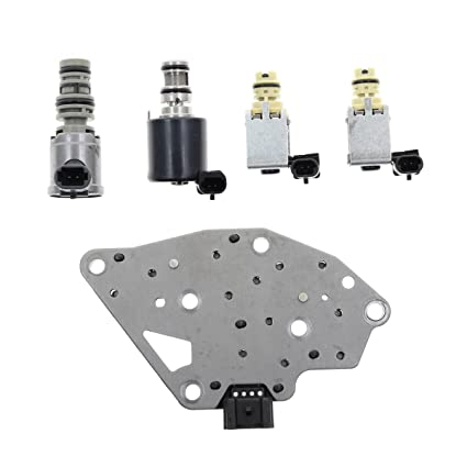 fcad4e4cc36 Image Unavailable. Image not available for. Color  AUTOKAY Transmission  Master Solenoid Kit Epc Shift Tcc GM ...