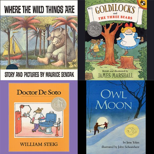 Where the Wild Things Are, Goldilocks and the Three Bears, Doctor De Soto, Owl Moon