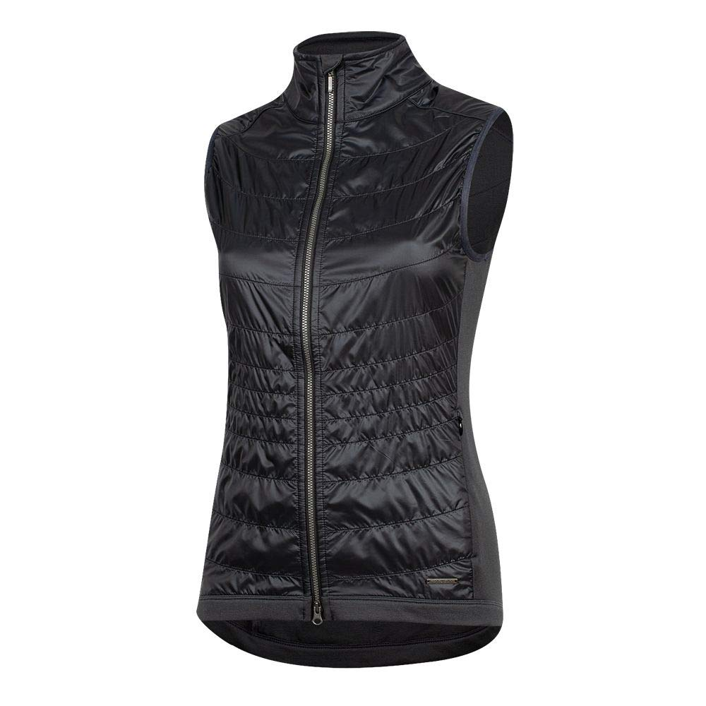 Pearl iZUMi Women's Boulevard Merino Cycling Vest, Black/Phantom, X-Small by Pearl iZUMi