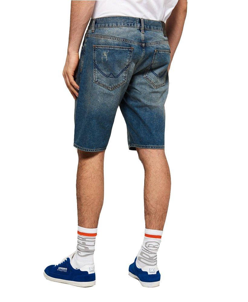 Superdry Men's Loose Denim Shorts (Market Mid Warn, 34) by Superdry (Image #2)