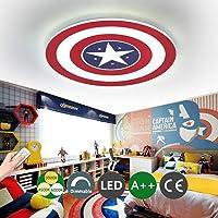 Luz de techo del Capitán América Lámpara