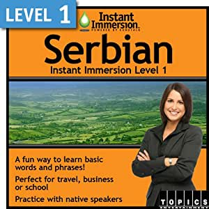Instant Immersion Level 1 - Serbian [Download]