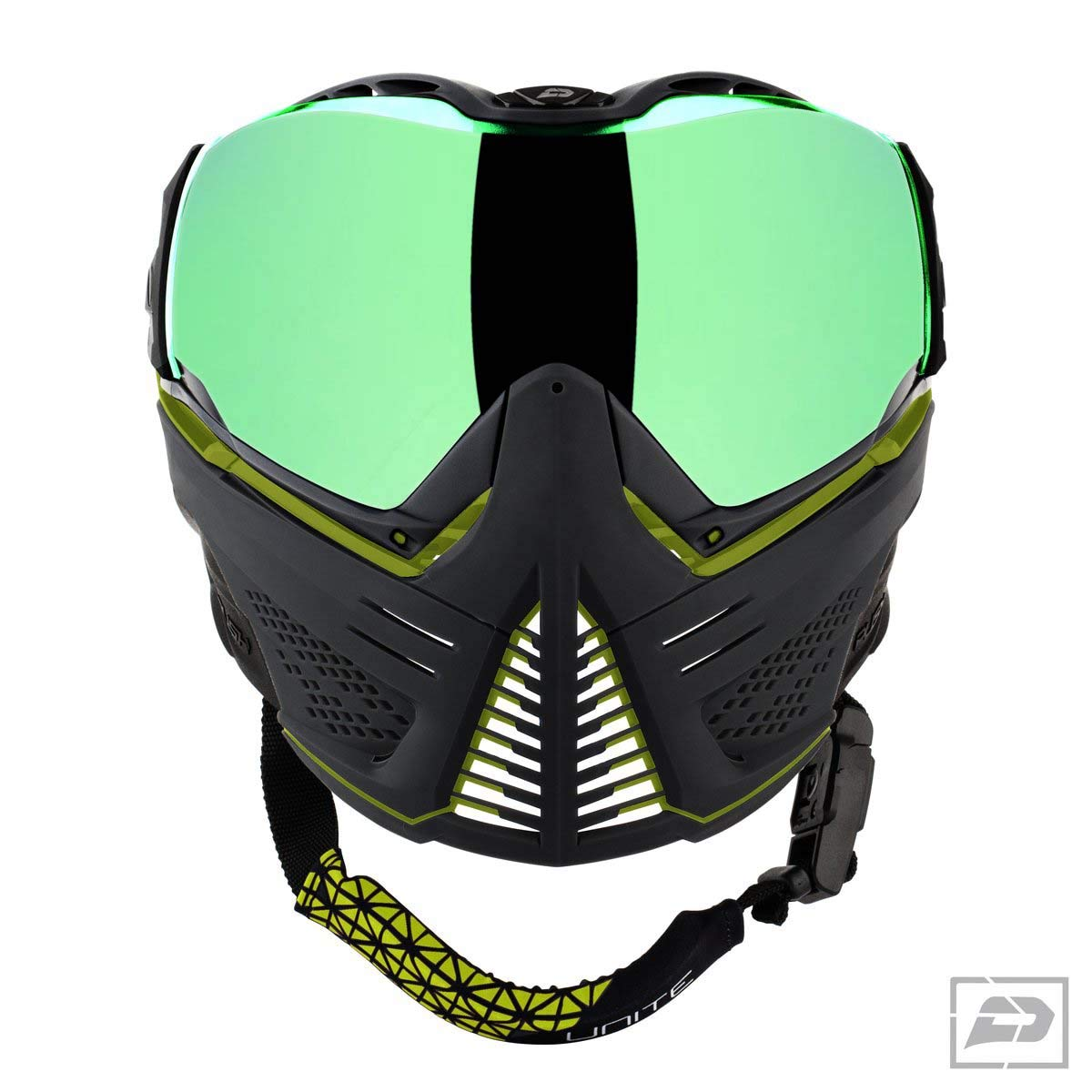 Push Unite Paintball Goggles & Case - Lime/Black by Push Paintball