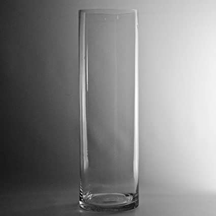Amazon 4 Opening Clear Cylinder Glass Vase Various Sizes