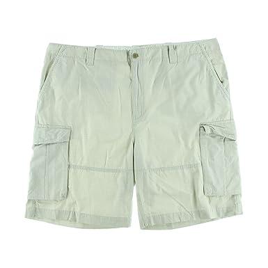 6b66e79f86 Nautica Men's Big & Tall Ripstop Cargo Shorts (54B X 12)   Amazon.com