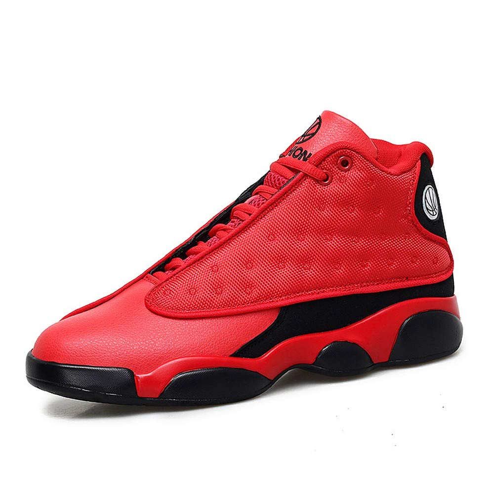Red And Black 40 BETIY Basketball shoes Men's shoes 2019 New Sports shoes Men's hightop Boots