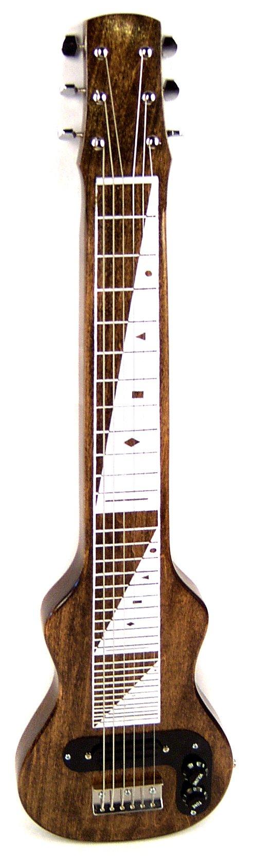Morrell JM Pro Poplar Body 6-String Lap Steel-Vintage Brown