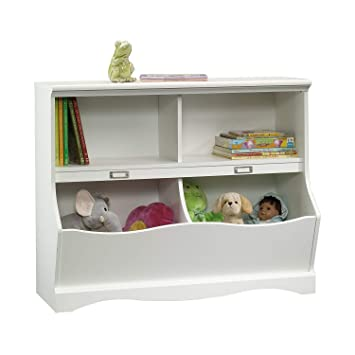 Amazon Com Nova Natural Toy Box Cubby Kids Bookcase With