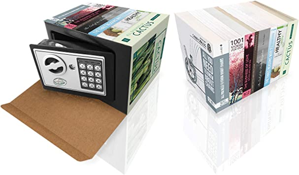 Caja Fuerte De Seguridad Para Dinero Cajas Fuertes Con Llave Secreta De Metal