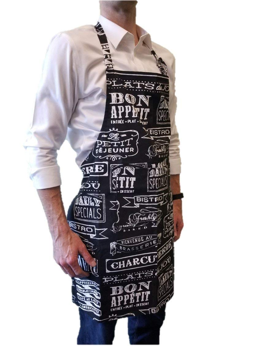 Guaranteed. JB Premium Classic Womens Kitchen Apron Premium Quality /& Extremely Durable 100/% Cotton Kitchen Apron with Pocket Classic Chefs Apron for Women